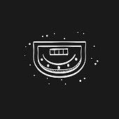 Sketch icon in black - Crap table