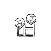 Sketch icon - Zoo map
