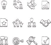 Sketch Icons - Management