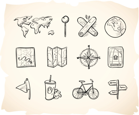 Sketch Map Icons
