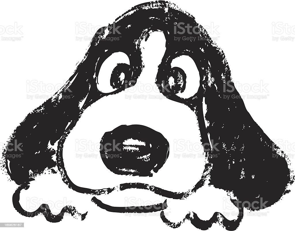 ilustração de desenho de rosto de cachorro e mais banco de imagens