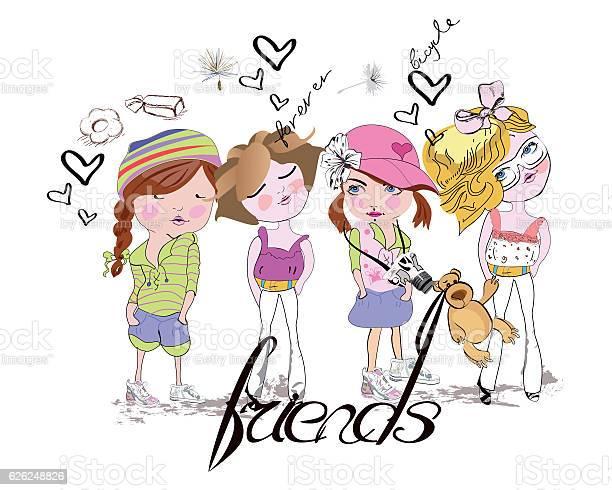 Sketch of fashion girls friends vector id626248826?b=1&k=6&m=626248826&s=612x612&h=mtwlrkrn uxj6mntdh2s5v lulxuemh9wiwhanmgaa4=