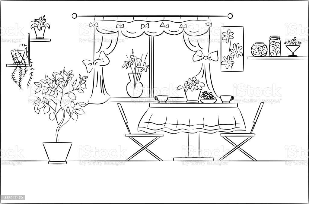 0 837217470 istock for Comedor para dibujar