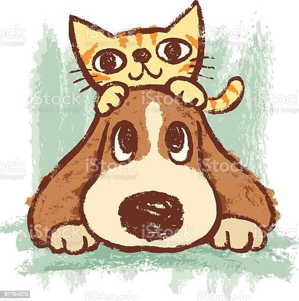 Sketch of kitten and dog vector id97764520?b=1&k=6&m=97764520&s=612x612&h=5wubhuyn97dgtb2tvohddql nvyxkbplvx65p1ywfwu=