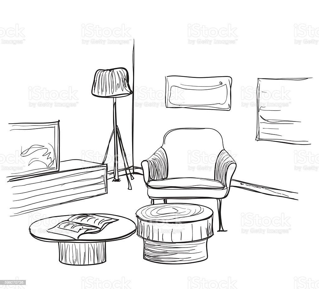 Charming Cartoon Living Room Background Ideas - Beautiful Living ...