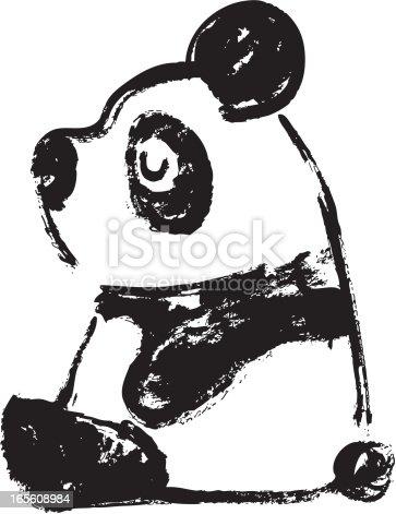Sketch of panda Transverse
