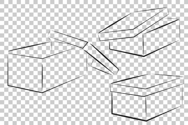 Best Template Of A Simple Box  Cut Out Paper Or Cardboard