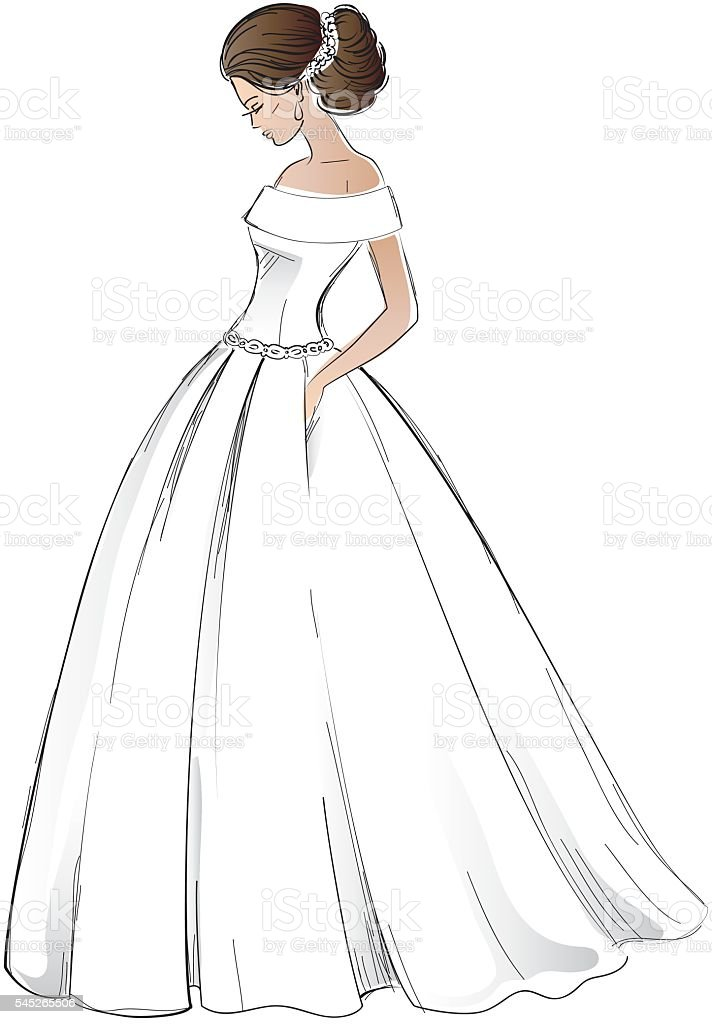 Dress Design Drawing Model