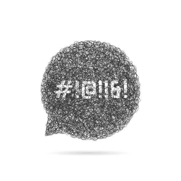 illustrazioni stock, clip art, cartoni animati e icone di tendenza di sketch speech bubble with swearing - furioso