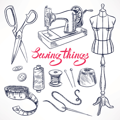 sketch tailoring equipment