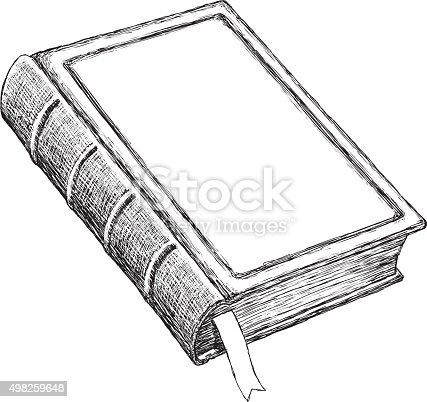 istock Sketch Vintage Book 498259648