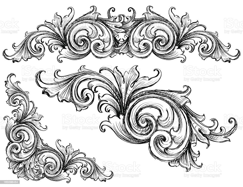 Sketched Victorian royalty-free sketched victorian stock vector art & more images of angle