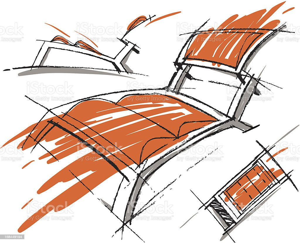 Sketches of furniture royalty-free sketches of furniture stock vector art & more images of abstract