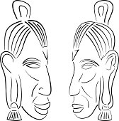 sketches of indians