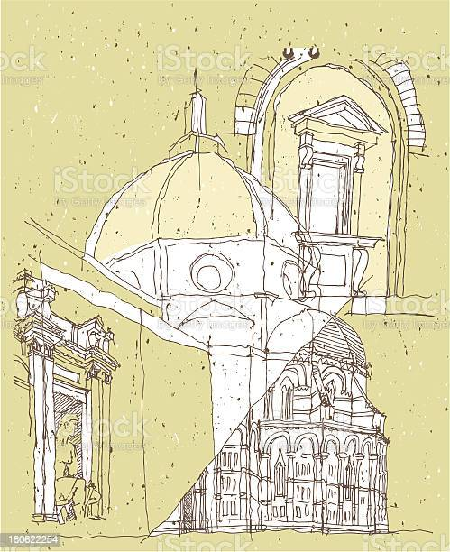 Sketching historical architecture in italy vector id180622254?b=1&k=6&m=180622254&s=612x612&h=8v41ksv0uawx54r3zzjwbjvcuz07ue7cs2zjfn4dozg=