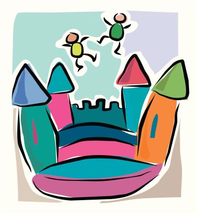 Sketchy Bouncy Castle