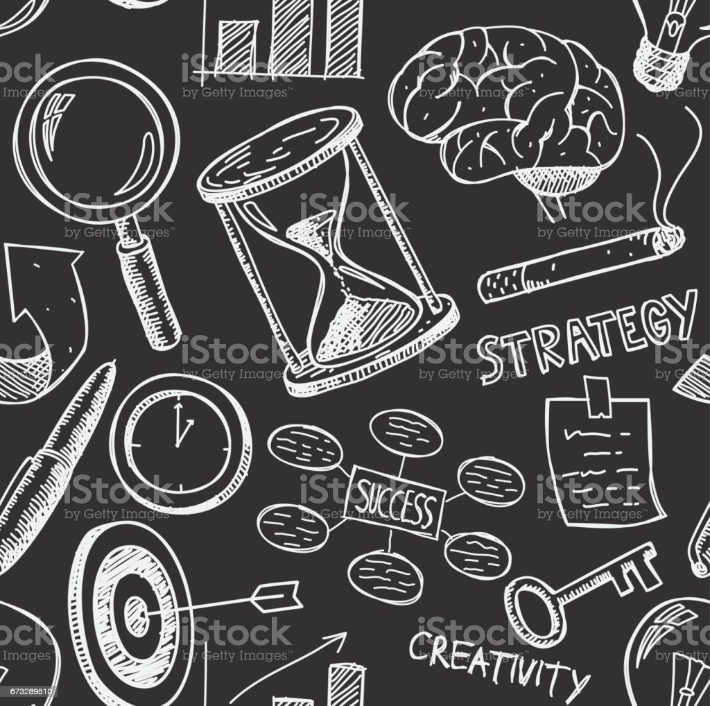 sketchy business strategy doodle royalty-free sketchy business strategy doodle stock vector art & more images of analyzing