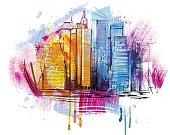 Sketchy Skyline