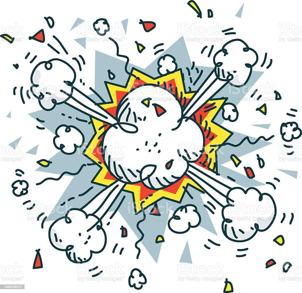 sketchy vector explosive royalty-free sketchy vector explosive stock vector art & more images of 2015