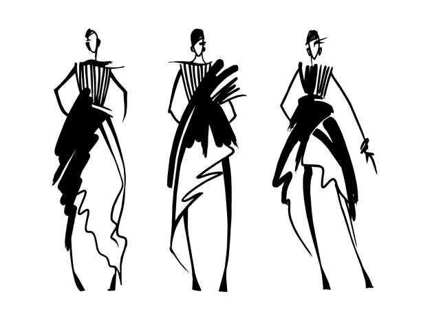 2 319 Fashion Designer Illustrations Royalty Free Vector Graphics Clip Art Istock