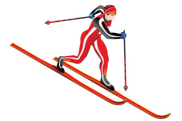 Открытка с победой в соревнованиях по лыжным гонкам, открытка оля днем