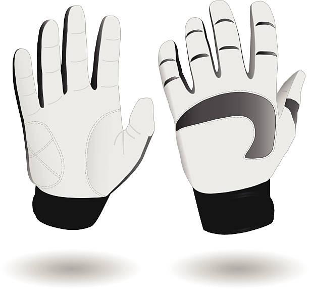 ski gloves eps8 - schutzhandschuhe stock-grafiken, -clipart, -cartoons und -symbole