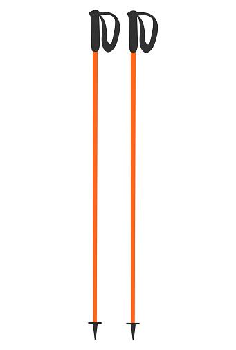 Ski poles or trekking