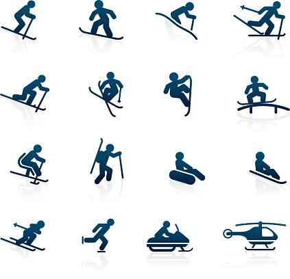 Ski Resort icons - Activities