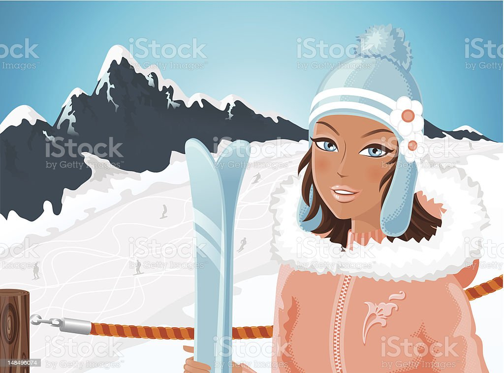 Ski season royalty-free ski season stock vector art & more images of adult