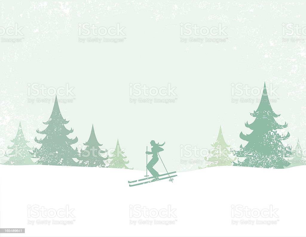 Ski royalty-free ski stock vector art & more images of adult