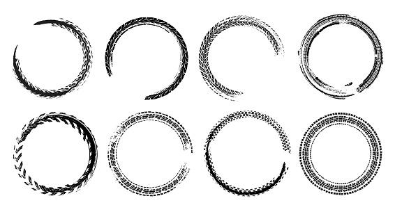 Skid Marks Circles Set