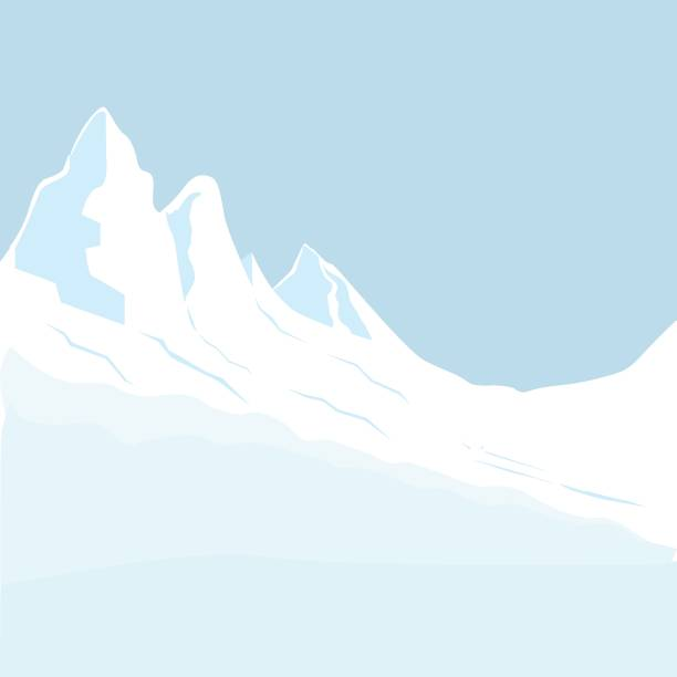 Skiing in the mountains Skiing, Ski, Avalanche, Snow, Winter avalanche stock illustrations