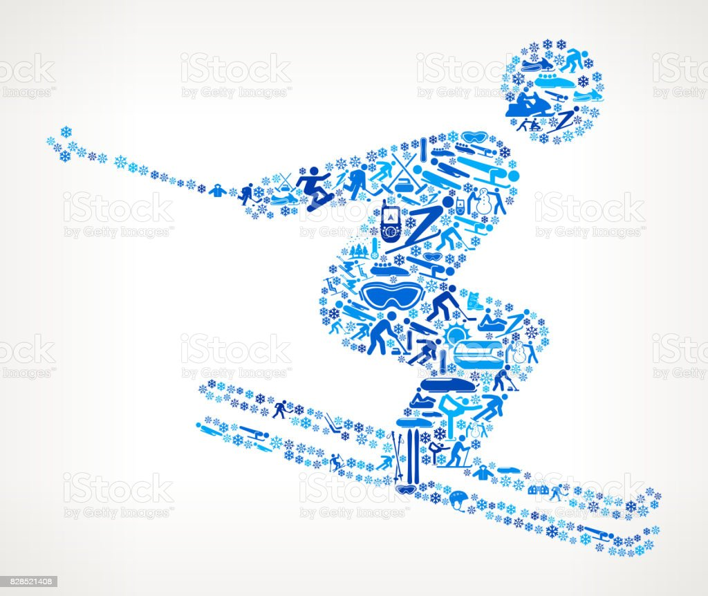 Skiing Winter Sports Fun. This image features the main object...