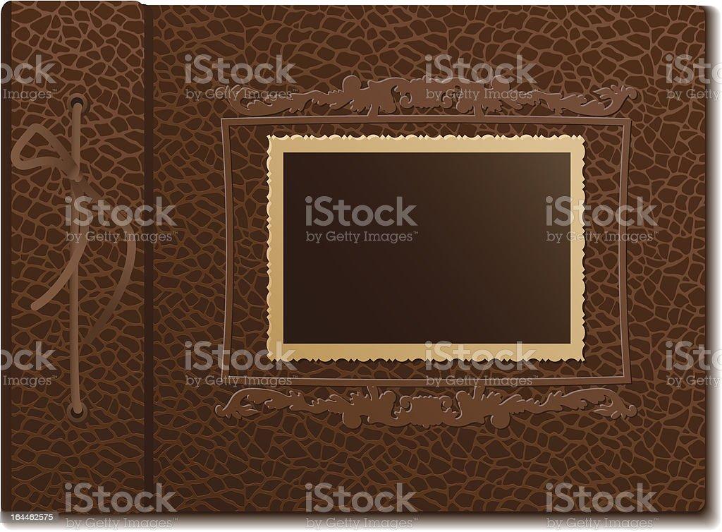 Cubierta De La Piel Un álbum De Fotos - Arte vectorial de stock y ...