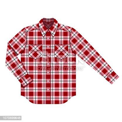Illustrationen visar en skjorta
