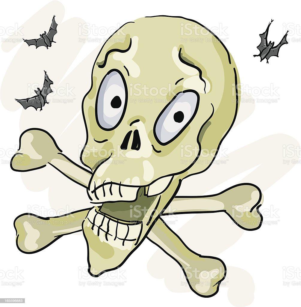 Skull and Cross Bones royalty-free skull and cross bones stock vector art & more images of animal body part