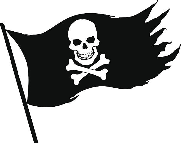 royalty free pirate flag clip art vector images illustrations