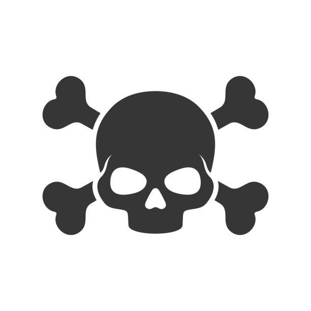 Best Skull And Crossbones Illustrations, Royalty-Free Vector