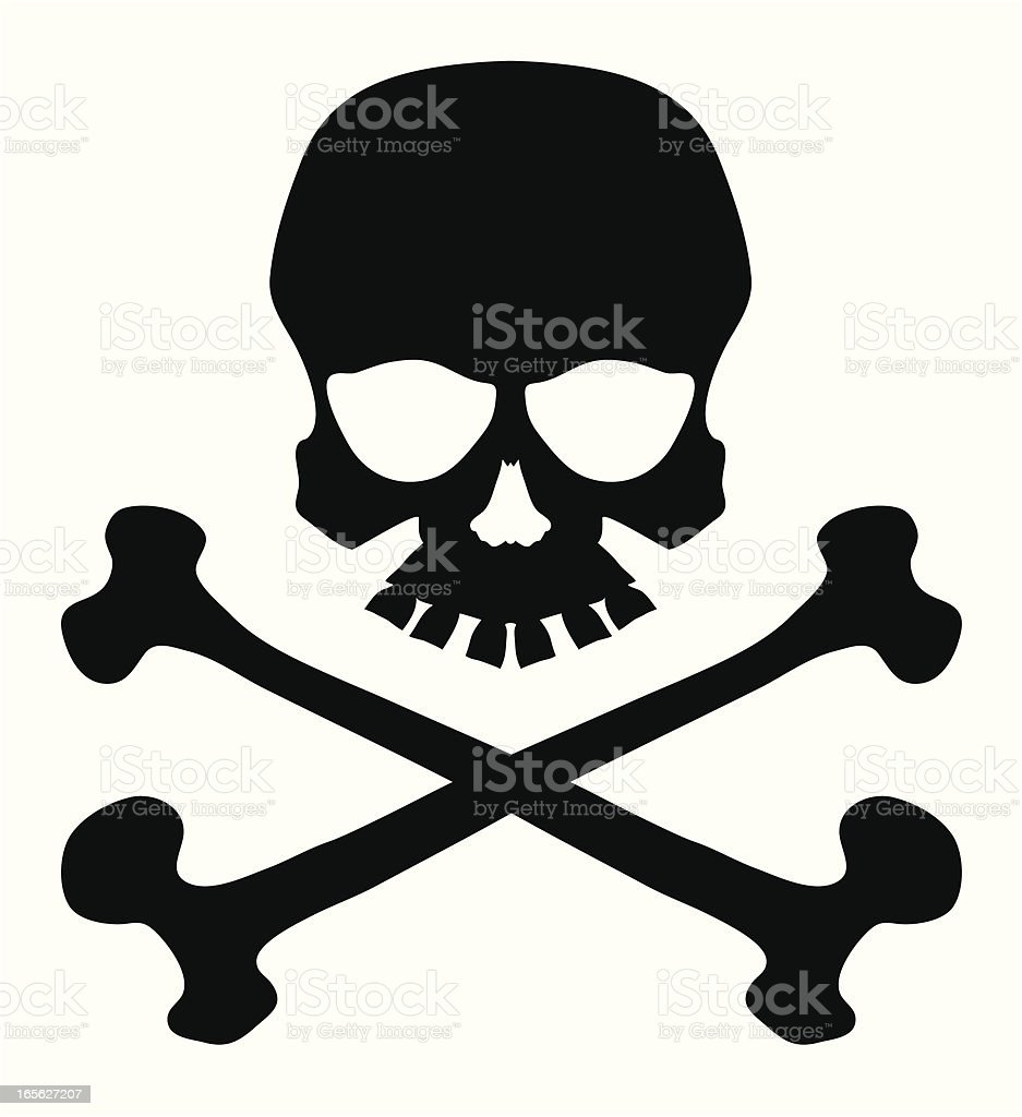 skull and crossbones stock vector art more images of black and rh istockphoto com free vector pirate skull and crossbones free vector pirate skull and crossbones