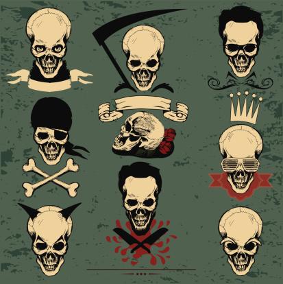 skull and crossbones,