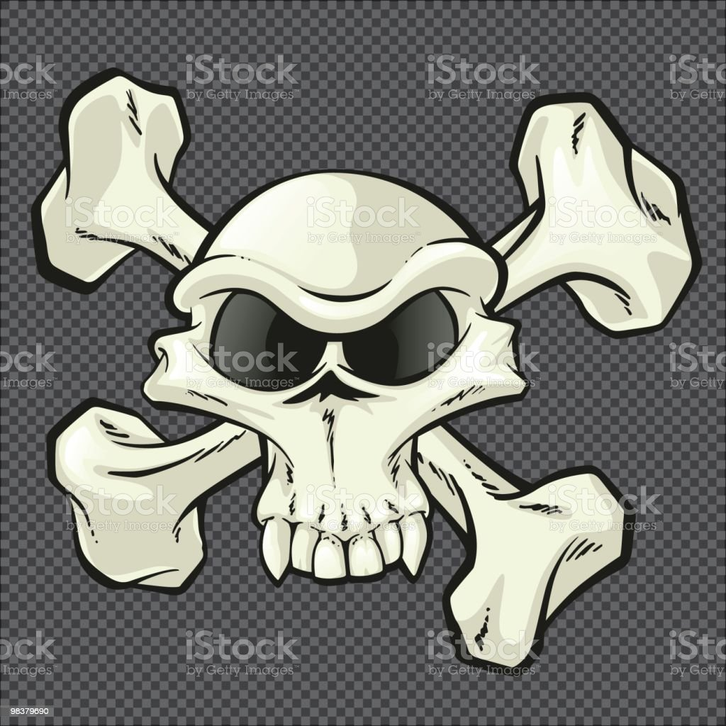Skull and Crossbones royalty-free skull and crossbones stock vector art & more images of cartoon