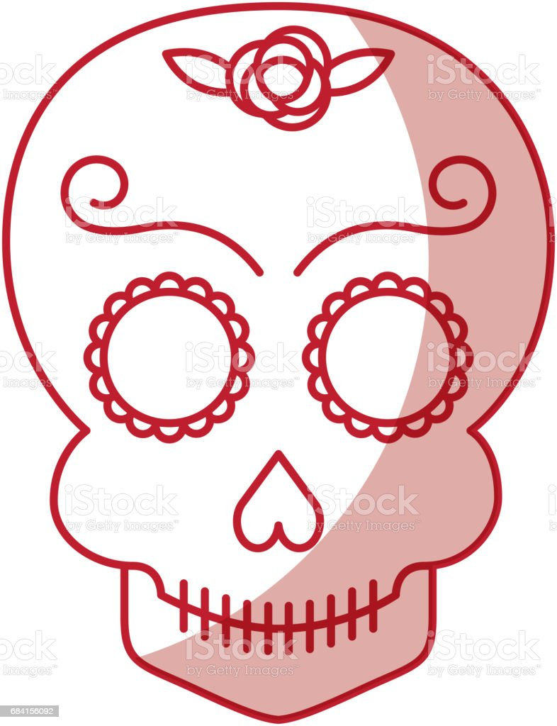skull artistic tattoo isolated icon skull artistic tattoo isolated icon - immagini vettoriali stock e altre immagini di ambiente royalty-free