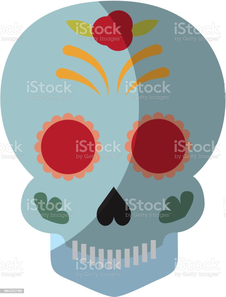 skull artistic tattoo isolated icon royalty-free skull artistic tattoo isolated icon stock vector art & more images of art