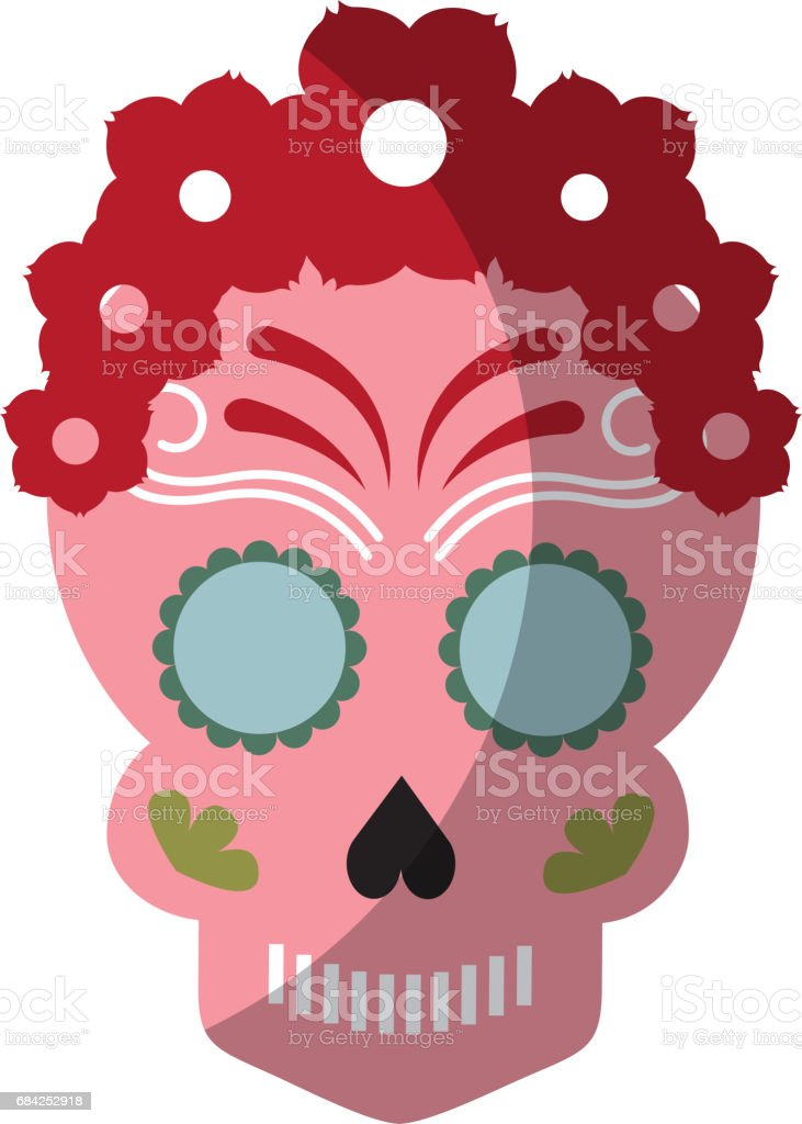 skull artistic tattoo isolated icon royalty-free skull artistic tattoo isolated icon stock vector art & more images of art product