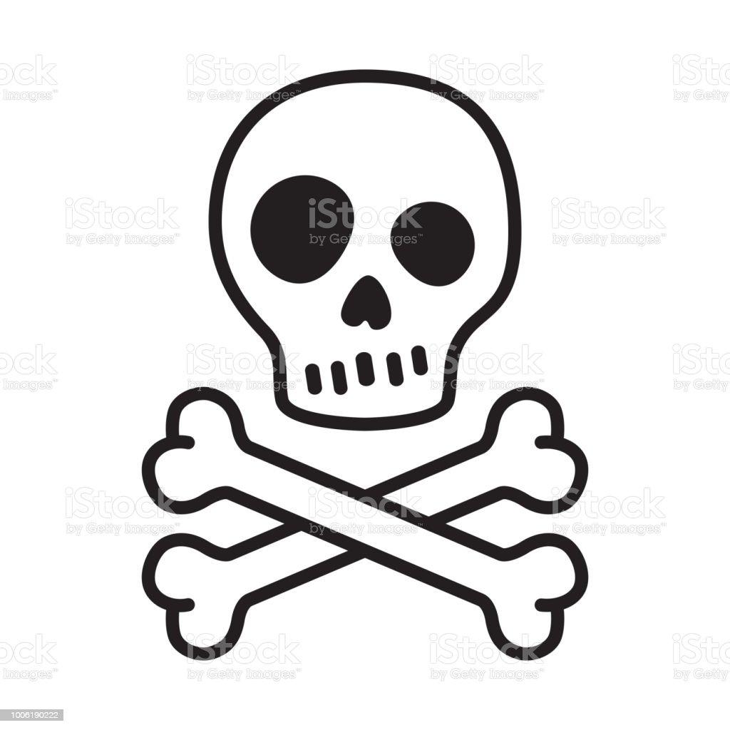 Ilustración De Bandera Pirata Calavera Vector Icono Pirata Halloween