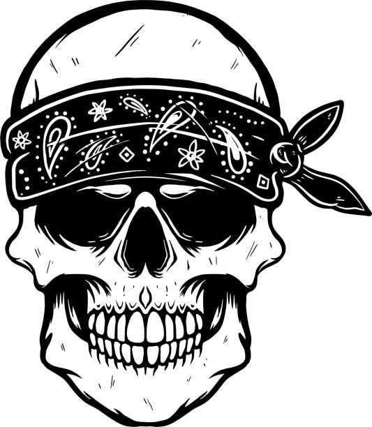 gang tattoos stock illustrations