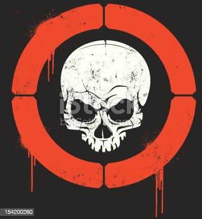 Skull in Crosshairs