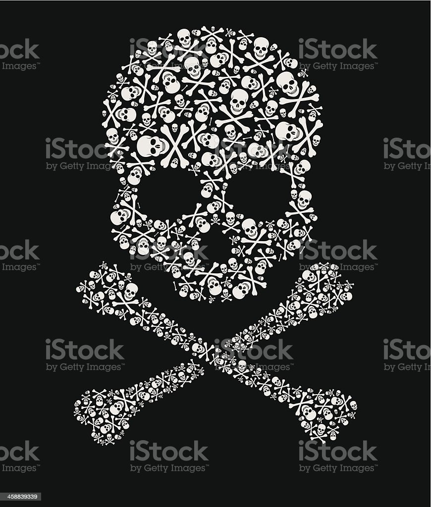 skull of skulls royalty-free skull of skulls stock vector art & more images of abstract