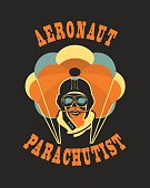 skull parachutist badge