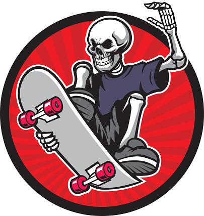 skull skater